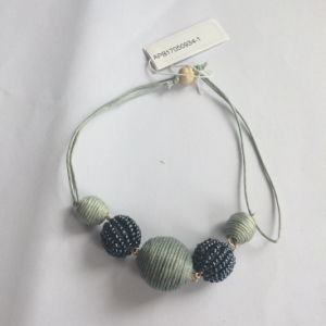 Grey Thread/ Cotton Ball Bracelet Fashion Jewelry New Style 2017 pictures & photos