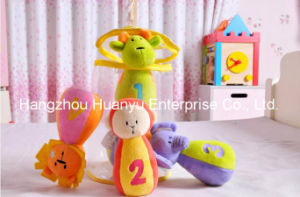 Baby Soft Plush Stuffed Animal Bowling with Rattle pictures & photos