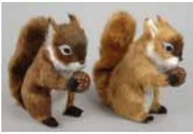 Decorative Fur Squirrel