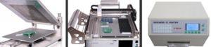 Mini Desktop SMT Production Line TM220A pictures & photos