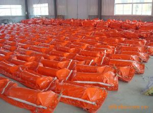 Rapid Response Airfilled Oil Containment Boom, PVC Inflatable Oil Boom pictures & photos