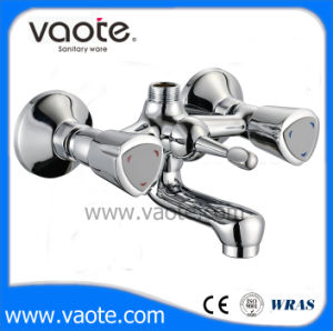 Double Handle Brass Body Bath Faucet (VT61501) pictures & photos