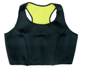 Neoprene Thermal Slimming Workout Sweating Hot Sport Bras (WU8017) pictures & photos
