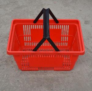 Plastic Supermarket Shopping Basket (JW-CN1411425) pictures & photos
