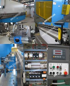 Plate Processing Press Brake Machine Wc67y-100t/3200 pictures & photos