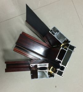 Aluminium Extruded Aluminum Window Door Profile Extrusion pictures & photos