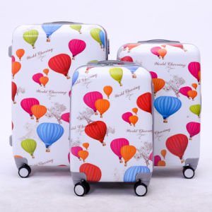 Fashion Colorful 3PCS Trolley Luggage/Suitcase/Luggage Set
