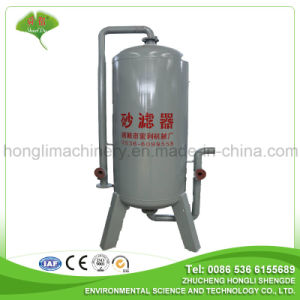Sand Filter for Wastewater Treatment to Remove Sundries pictures & photos