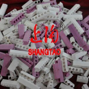 White Steatite Ceramic Band Heater Insulators pictures & photos