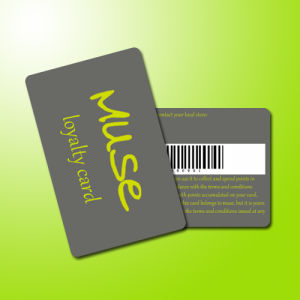 Plastic Loyalty VIP Barcode Card with Low Factory Price