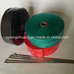 Fire Resistance Fibreglass Exhaust Header Wrap Tape pictures & photos