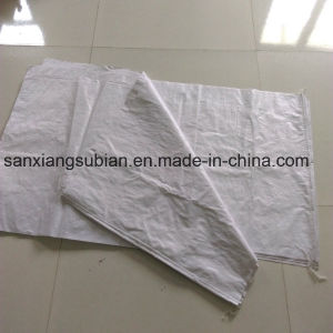 Cheap Recycled White Color Polypropylene Woven Bags Sacks pictures & photos