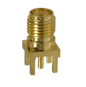 RP SMA Straight PCB Mount Female Connector