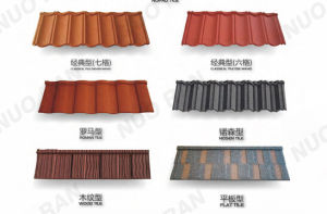 Bond Colorful Stone Coated Metal Roofing 1340X420mm pictures & photos