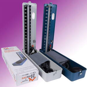 CE ISO Desk Standard Type Mercurial Sphygmomanometer (MA100) pictures & photos