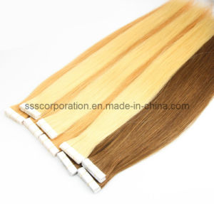 Remy Human Hair Tape in Hair Extensions pictures & photos