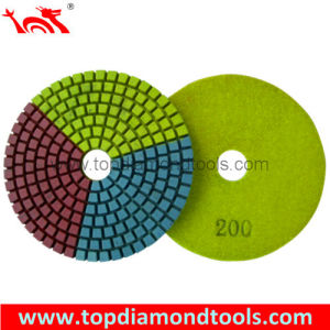 Diamond Flexible Polishing Pads for Polishing and Grinding Stone pictures & photos