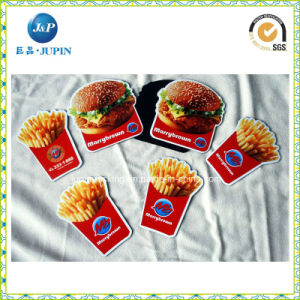 Hamburgers and Chips Shape Paper Fridge Magnets (JP-FM008) pictures & photos