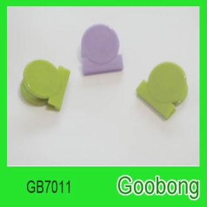 Mini Plastic Round Color Paper Clip pictures & photos
