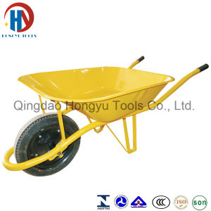 Beautiful&Cheap Garden Wheel Barrow, Building Wheelbarrow (WB6400BW) pictures & photos