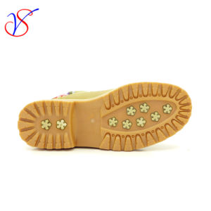 2016 New Style Injection Women Work Boots Shoes for Job (SVWK-1609-017 TAN) pictures & photos