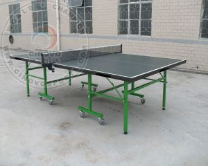 Double-Folding Table Tennis Table pictures & photos