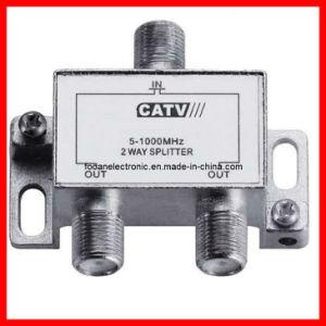 2 Ways 5-900MHz CATV Splitter & 3 Ways 5-1000MHz Satellite Splitter pictures & photos
