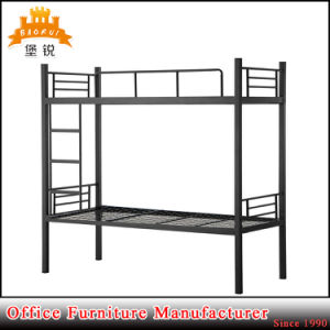 Cheap School Furniture Steel Frame Bunk Bed pictures & photos