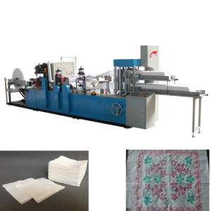 High Speed Automatic Napkin Paper Folder Machine pictures & photos