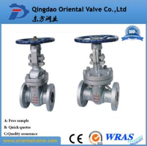 Flanged Stainless Steel Gate Valve for Oil Gas and Water Pn16 Dn300 pictures & photos