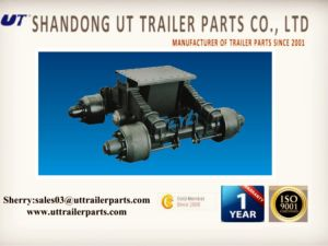 24t Bogie Truck Trailer Single Point Suspension pictures & photos
