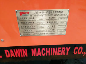 Diesel Engine Concrete Mixer with Delivery Pump pictures & photos