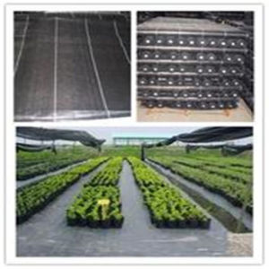 Black Weed Guard Gardening Landscape Agriculture Woven Fabric Geotextile pictures & photos