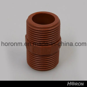 Pph Water Pipe Fitting-Tank Adaptor-Union-Tee-Elbow-Coupling (1′′) pictures & photos