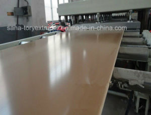 PVC Skinning Foaming Board Extrusion Line/Plastic Extruder Machine pictures & photos