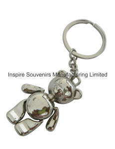 Promotional Moveable Universal Bear Metal Keychain (SK211) pictures & photos