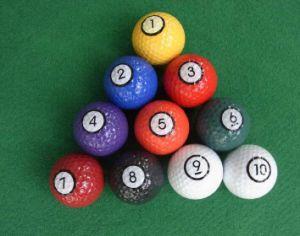 Golfball Manufacturer Luminous Glow Golf Balls pictures & photos