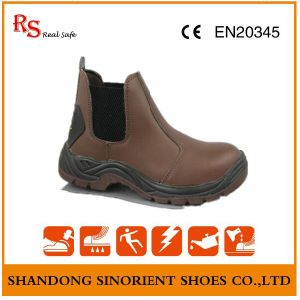 No Lace Blundstone Safety Shoes, Steel Toe Work Shoes RS026 pictures & photos