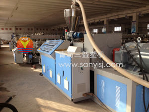 Wood Plastic Construction Board Production Line/Extruder pictures & photos