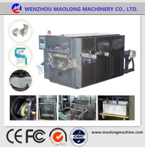 Ml-850 Roll Creasing Die Cutting Machine