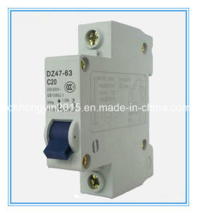 Dz47 1p C20 20A 240V CE Approval Miniature Circuit Breaker pictures & photos