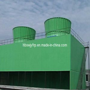 Energy Saving Steel Frame Square Shape Water Cooling Tower pictures & photos