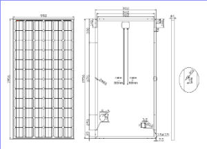 36V 330W Mono Solar Panel pictures & photos