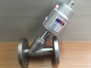 Pneumatic Stainless Steel Double/Single Acting Seat Control Valve with Stainless Steel Actuator