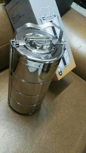 201 Stainless Steel Double Wall Lunchbox (JX-076B) pictures & photos