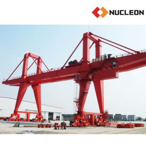 Double- Girder Gantry Crane with Ce Certificated 80t pictures & photos