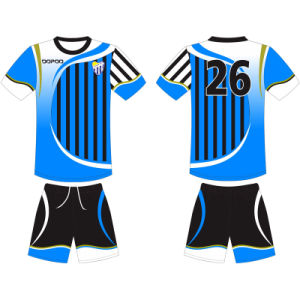 Sublimated Football Soccer Uniform Tshirt for Team pictures & photos