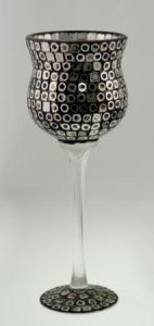 New Desgin Glass Mosaic Candle Holder for Holiday pictures & photos