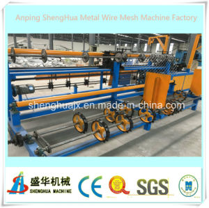 China Supplier Full Automatic Chain Link Fence Machine pictures & photos