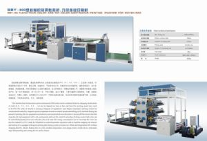 Sby-800 Flexo Six-Color Continuous Printing Machine for Woven Bag
